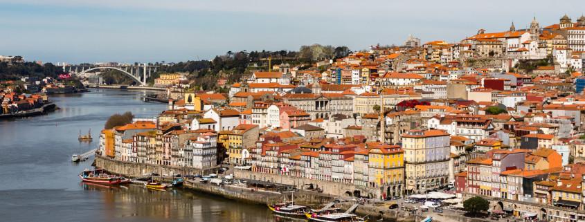 Porto und der Fluss Douro